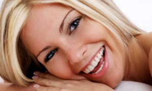 Whitened smile