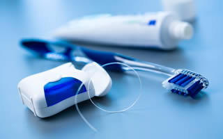 teeth and gum cleaning